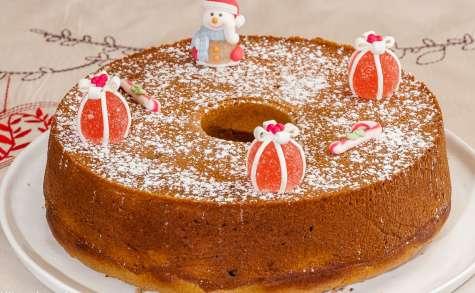 Gâteau du matin à la crème de châtaignes de Noël