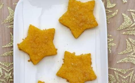 Étoiles de polenta gratinées