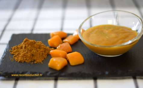 Sauce à la mangue