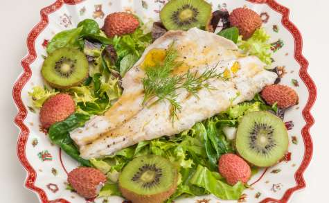Salade de bar aux fruits d'hiver