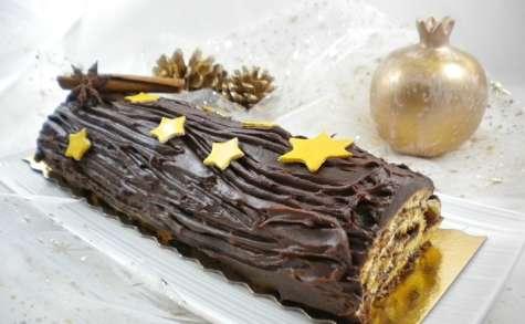 Bûche de Noël au chocolat super simple et facile