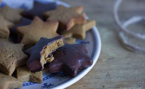 Gingerbread : biscuits aux épices et au chocolat