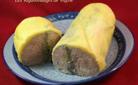 Foie gras aux poires et au Gewurztraminer