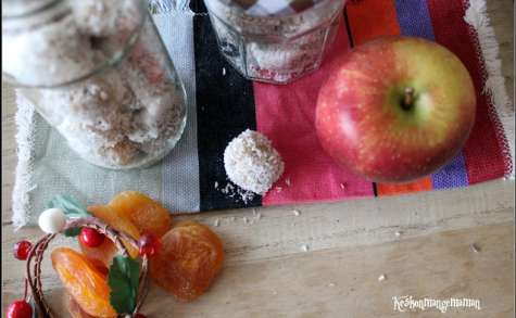 Energy balls abricot tahini