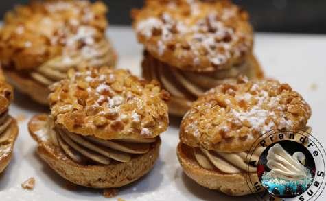 Mini Paris-Brest à la mousse de foie gras