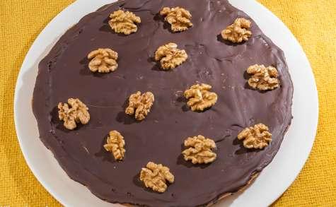 Tarte aux noix et chocolat
