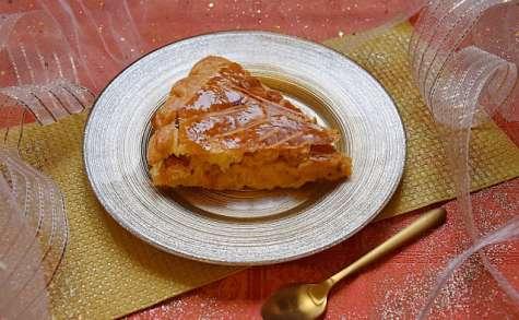 Galette patates douces et frangipane de noisettes
