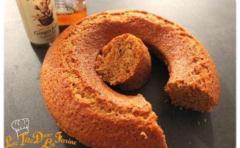 Gâteau au gingembre et au miel