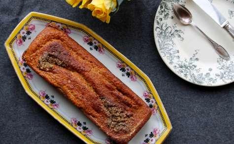 Banana bread à la farine complète