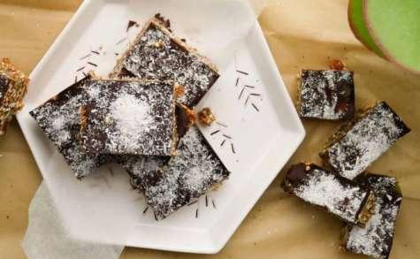 Petites barres quinoa soufflé et chocolat