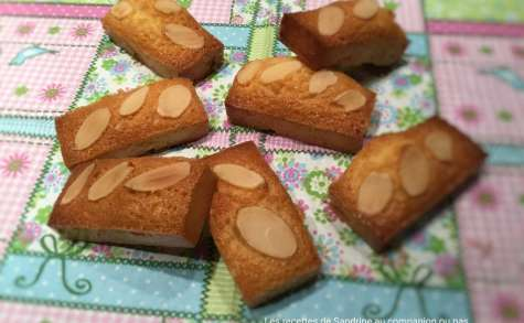 Mini financiers amandes