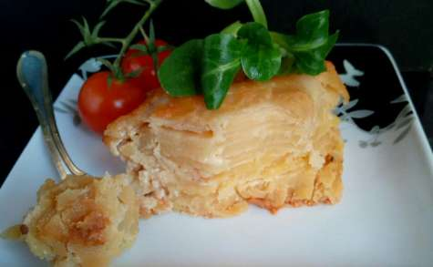 Le gratin Dauphinois traditionnel fait maison