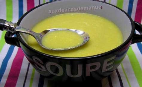 Crème de chou romanesco et carottes