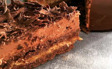 Entremet Chocolat Caramel de Sébastien Bouillet