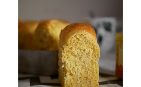 Brioche à l'orange et au miel