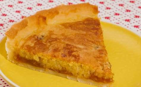 Tarte à la pâte d'amandes et aux prunes