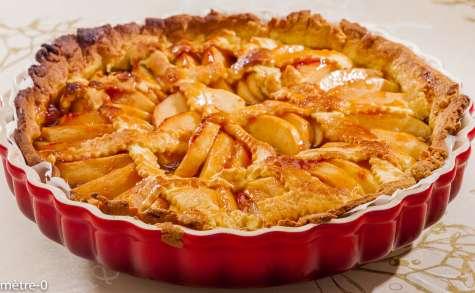 Tarte aux pommes et pain d'épices