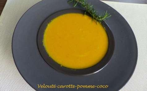 Velouté carotte-pomme-coco