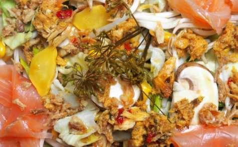 Salade bien gourmande