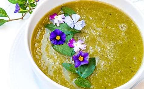 Soupe poireaux et courgettes