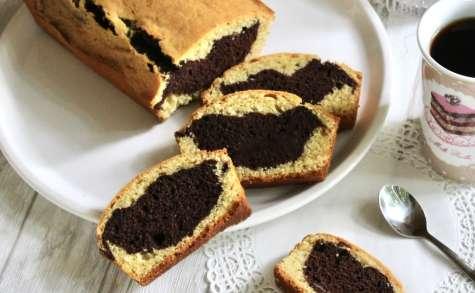 Marbré chocolat, noisettes, et vanille