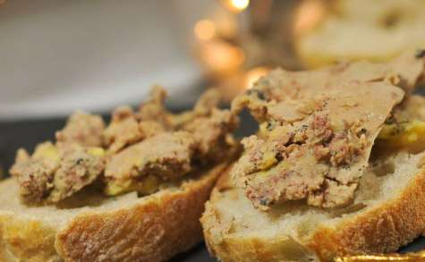 Foie gras au rhum et aux épices