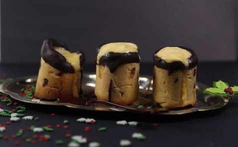 Cookies shot au chocolat et à la crème de mangue