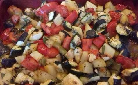 Légumes à la provençale au four
