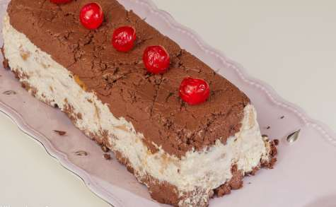 Terrine mascarpone de poires, chocolat