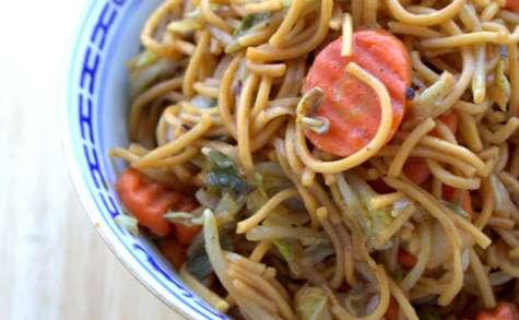 Lo Mein aux légumes