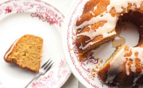 Cake vanillé malté