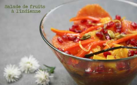 Salade de fruits à l'indienne