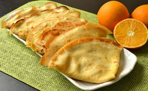 Crêpes à l'orange