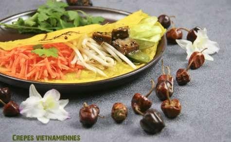 Crêpes vietnamiennes bánh xeo