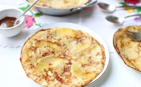 Crêpes épaisses aux pommes