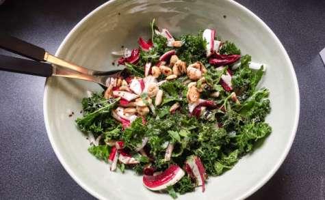 Salade de kale et de radicchio