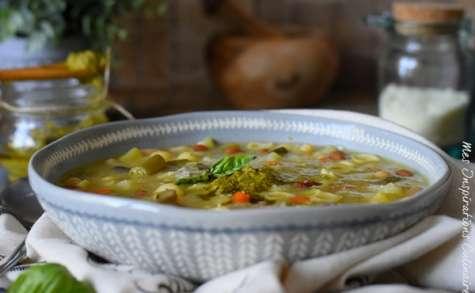 La Soupe de pistou provencale la vraie recette