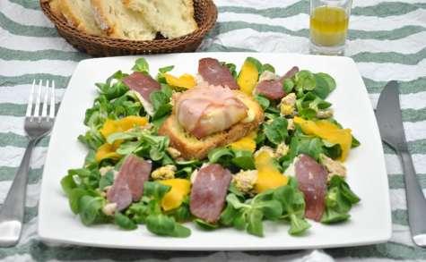 Salade folle aux saveurs de fête