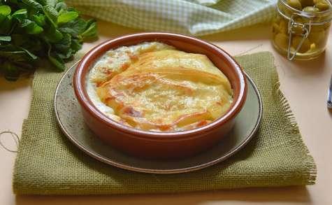 Crousti-fondant torta Mascarpone, olives et menthe