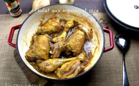Poulet aux oignons et au soja