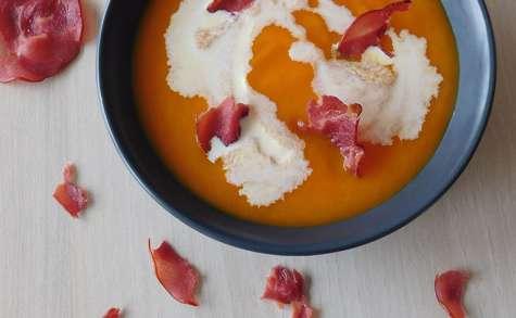 Velouté de carottes et orange