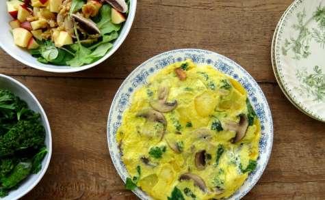 Mon omelette d'hiver