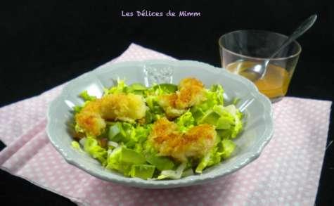 Salade de crevettes croustillantes pour la Saint-Valentin
