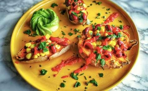 Patates douces pimentées aux saveurs mexicaines