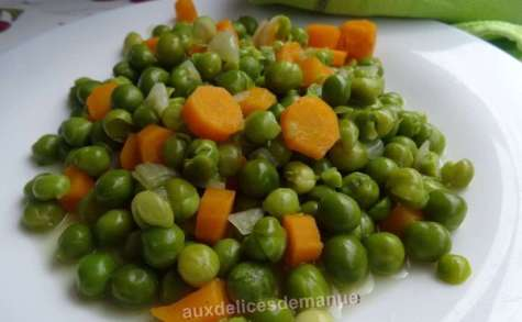 Petits-pois et carottes