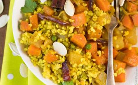 Tagine de légumes et dattes au millet