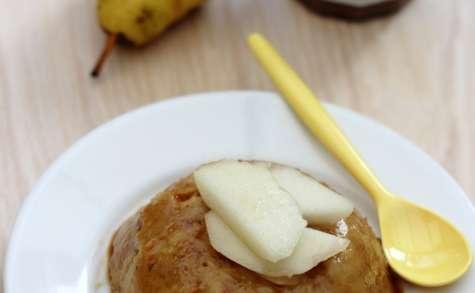 Bowlcake à la poire ou pomme et caramel