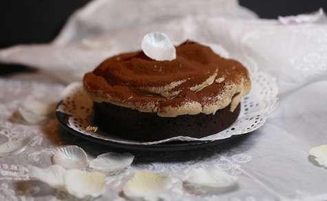 Moelleux au chocolat meringué