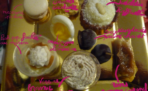 Assortiments desserts mignardises