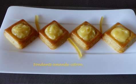 Fondants amande-citron
